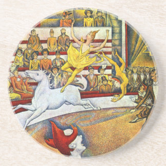 Georges Seurat - The Circus Drink Coaster