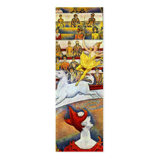 Georges Seurat - The Circus Mini Business Card