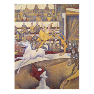 Georges Seurat - The Circus Post Card