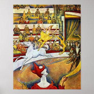 Georges Seurat - The Circus Print