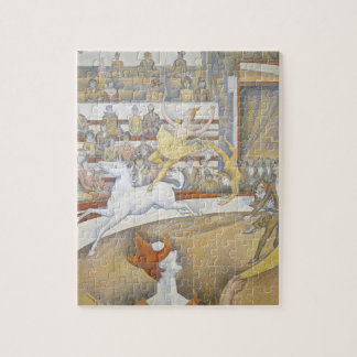 Georges Seurat - The Circus Jigsaw Puzzles