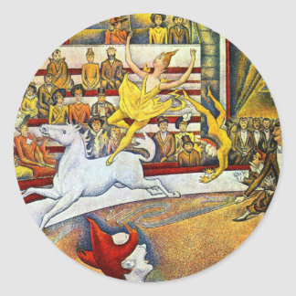 Georges Seurat - The Circus Stickers