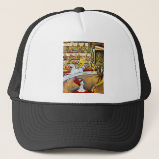 Georges Seurat - The Circus Trucker Hat