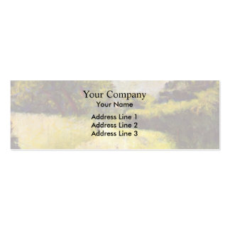 Georges Seurat- The Hollow Way Business Card Template