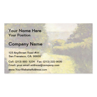 Georges Seurat- The Hollow Way Business Card