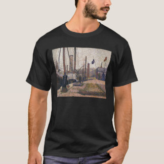 Georges Seurat The Maria at Honfleue T-Shirt