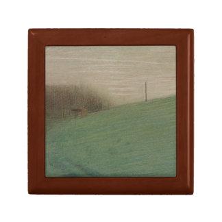 Georges Seurat - The Meadow Keepsake Box