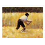 Georges Seurat- The Mower Post Cards