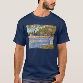Georges Seurat The Seine and la Grande Jatte T-Shirt