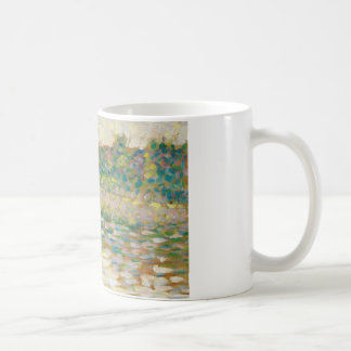 Georges Seurat - The Seine at Courbevoie Coffee Mug
