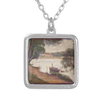 Georges Seurat- The Seine at La Grande Jatte Pendants