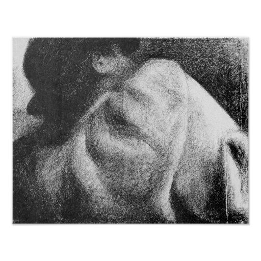 Georges Seurat-The Sleeper Poster