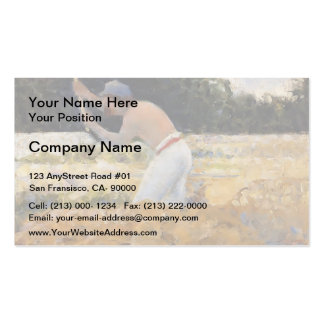 Georges Seurat- The Stone Breaker Business Card Templates