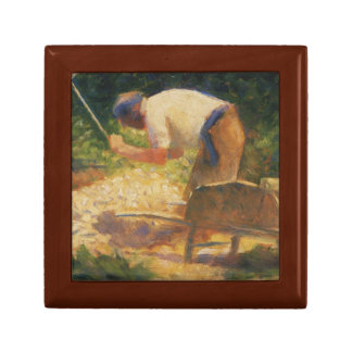 Georges Seurat - The Stone Breaker Jewelry Box