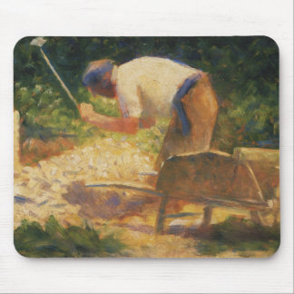Georges Seurat - The Stone Breaker Mouse Pad