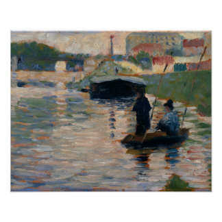 Georges Seurat - View of the Seine Poster