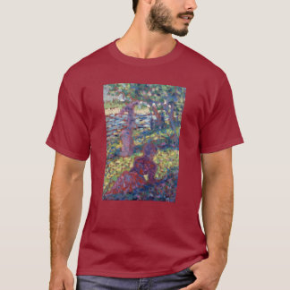 Georges Seurat Woman in a Park T-Shirt