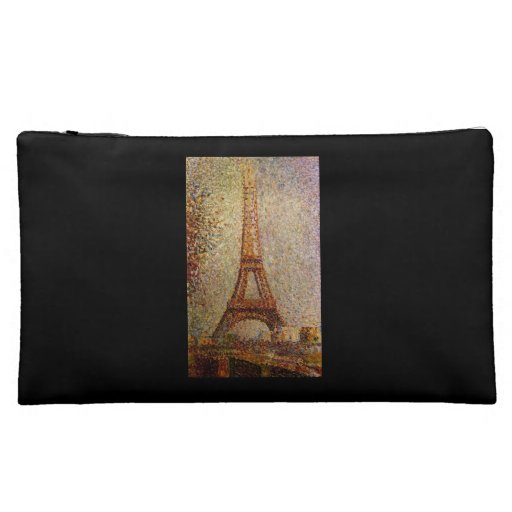 Georges Seurat's Painting: The Eiffel Tower (1889) Cosmetic Bag