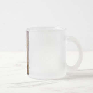 Georges Seurat's Painting: The Eiffel Tower (1889) Frosted Glass Coffee Mug