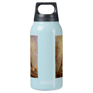 Georges Seurat's Painting: The Eiffel Tower (1889) Insulated Water Bottle