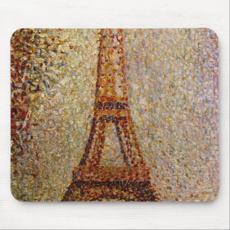 Georges Seurat's Painting: The Eiffel Tower (1889) Mouse Pad
