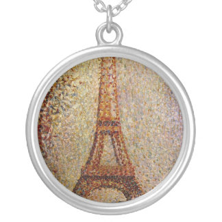 Georges Seurat's Painting: The Eiffel Tower (1889) Pendants