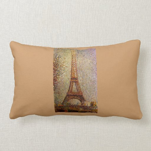 Georges Seurat's Painting: The Eiffel Tower (1889) Pillows
