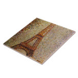 Georges Seurat's Painting: The Eiffel Tower (1889) Ceramic Tile