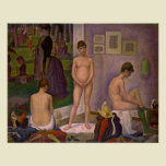 Georges Seurat's The Models
