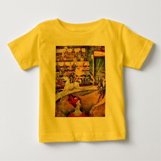 Georges Seurat's The Circus (1891) Baby T-Shirt