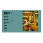 Georges Seurat's The Circus (1891) Business Card Templates