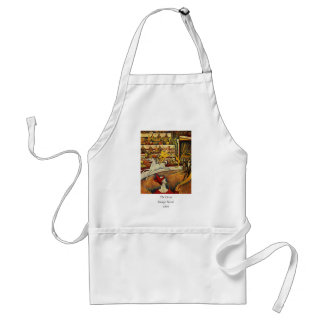 Georges Seurat's The Circus (1891) - Clown & Rider Adult Apron
