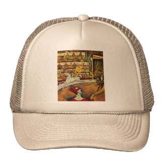Georges Seurat's The Circus (1891) Trucker Hat