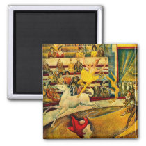 Georges Seurat's The Circus (1891) Magnet