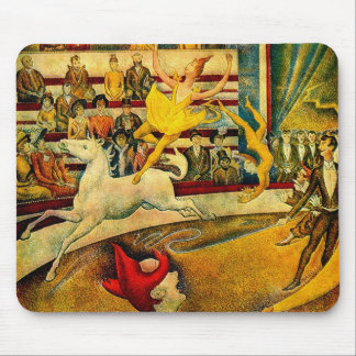 Georges Seurat's The Circus (1891) Mouse Pad