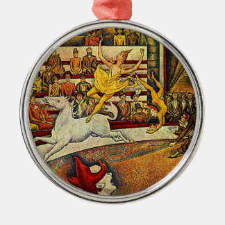 Georges Seurat's The Circus (1891) Ornament