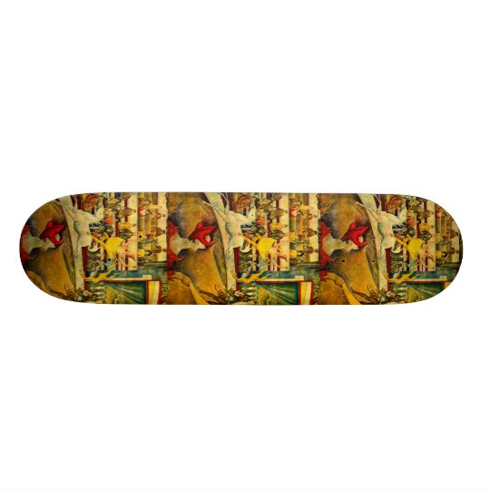 Georges Seurat's The Circus (1891) Skateboard Deck
