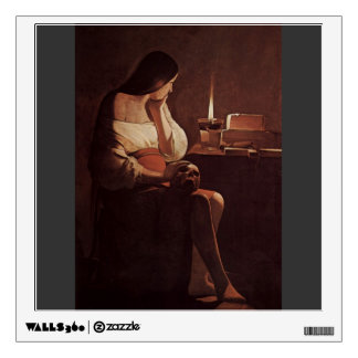 Georges Tour- Mary Magdalene with a night light Room Graphics