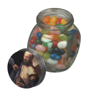 Georges Tour- St. Thomas, Saint with a Pike Glass Candy Jars