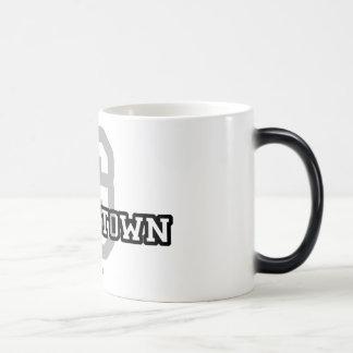 Georgetown 11 Oz Magic Heat Color-Changing Coffee Mug