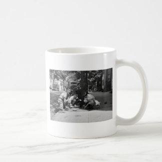 Georgetown Boys, 1930s Classic White Coffee Mug