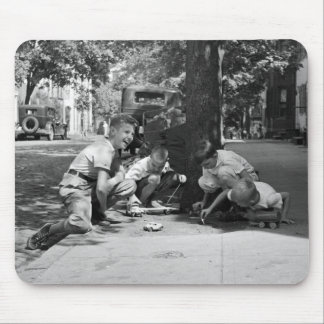 Georgetown Boys, 1930s Mouse Pad