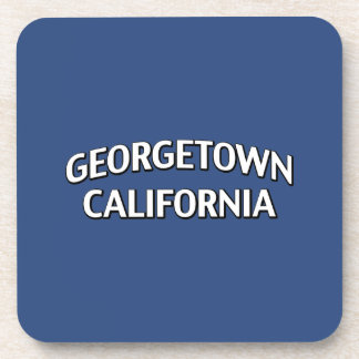 Georgetown California Drink Coaster