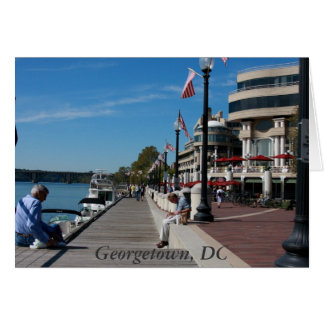 Georgetown, DC Greeting Card