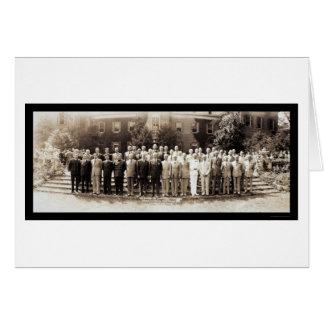 Georgetown Dumbarton Photo 1944 Card