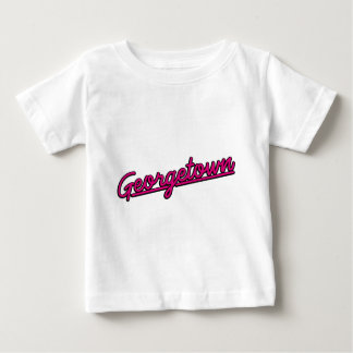 Georgetown in magenta baby T-Shirt