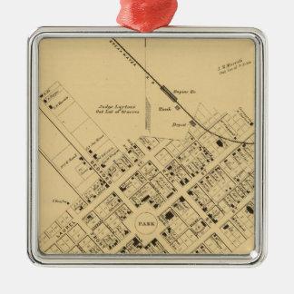 Georgetown Metal Ornament