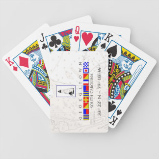 Georgetown SC Marine Flags Playing Cards