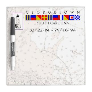 Georgetown SC Marine Signal Flag Message Board