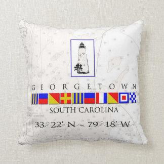 Georgetown SC Marine Signal Pillow